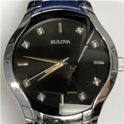 17) BULOVA DIAMOND WATCH