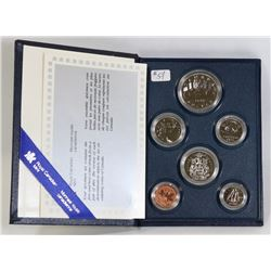 1986 CANADA SPECIMEN COIN SET