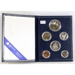 1985 CANADA SPECIMEN COIN SET