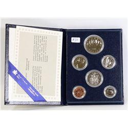 1984 CANADA SPECIMEN COIN SET