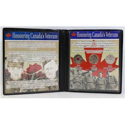 CANADA'S VETERAN COIN COLLECTION IN CASE