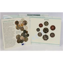 1996 UNCIRCULATED UK COIN COLLECTION SET