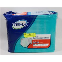 BAG OF MEDIUM SIZE TENA SUPER BRIEFS