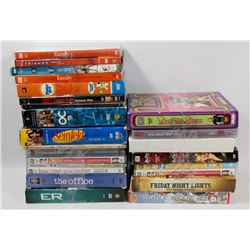 BOX OF 24 TV SERIES DVD MOVIES