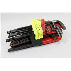 94) BUNDLE OF ALLEN WRENCHES.