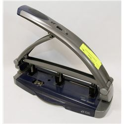 3 HOLE OFFICE PAPER PUNCH.
