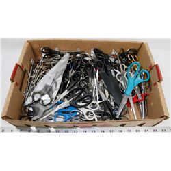 FLAT OF ASSORTED SCISSORS