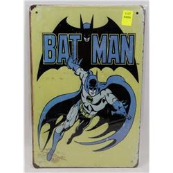 "NEW 12"" X 8"" BATMAN METAL SIGN"