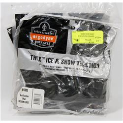 2 NEW ERGODYNE TREK ICE & SNOW TRACION #6302 HEEL