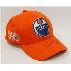 DARNELL NURSE OILERS HAT SIGNED - UNAUTHENTICATED