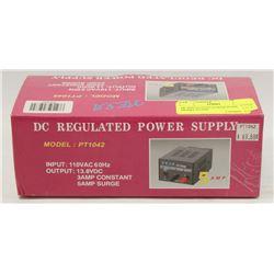 DC REGULATED POWER SUPPLY MODEL PT1042