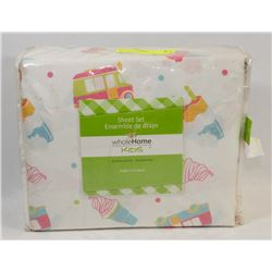 NEW SEARS KIDS DOUBLE FULL SHEET SET 4 PC'S