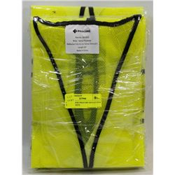 SET OF 4 NEW PROCORE REFLECTIVE SAFETY VESTS.