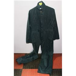 NEW SIZE 42 BUTTON UP 100% COTTON COVERALLS