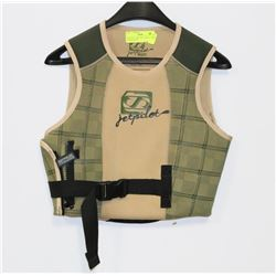 JET PILOT COMP VEST, CHILD SIZE MEDIUM, NEW