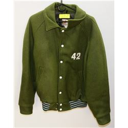 NEW SIZE 42 GREEN BOMBER JACKET