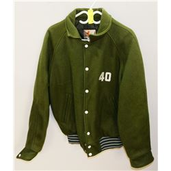 NEW SIZE 40 GREEN BOMBER JACKET