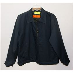 NEW SIZE L RED KAP LINED WORK JACKET.