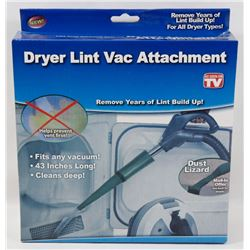NEW DRYER LINT VAC ATTACHMENT