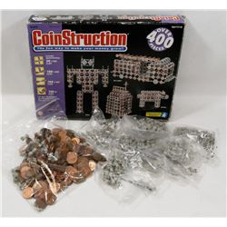 VINTAGE 1992 COIN CONSTRUCTION