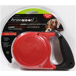 NEW 16FT RETRACTABLE LEASH FOR MEDIUM-SIZED DOGS