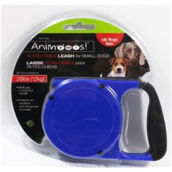 NEW 16FT RETRACTABLE LEASH FOR SMALL-SIZED DOGS