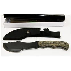 """NEW 11"""" JUNGLE SURVIVAL KNIFE WITH SHEATH"""