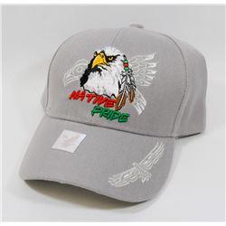 "NEW ""NATIVE PRIDE"" ADJUSTABLE BALL CAP"