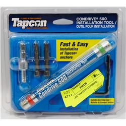 "SEALED ""TAPCON"" CONDRIVE"