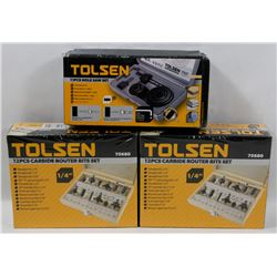 SET OF 2 TOLSEN ROUTER BITS