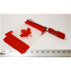 5PK EXTENDABLE CANADA FLAGS