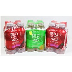 12 BOTTLES OF BIO STEEL SPORTS DRINKS