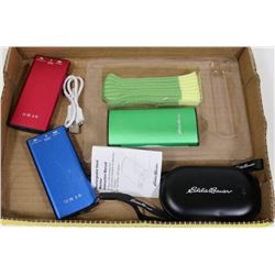 LOT OF 4 EDDIE BAUE RECHARGEABLE HANDWARMER