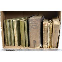 ANTIQUE BOOKS LOT