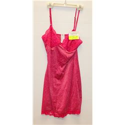 NEW ARIANNE PINK SHIMMER CAMISOLE/DRESS SIZE SMALL