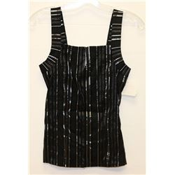 NEW ARIANNE BLACK DRESS TOP  SIZE SMALL