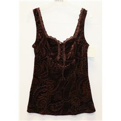 NEW ARIANNE JEWEL VELVET TOUCH CAMISOLE SIZE SMALL