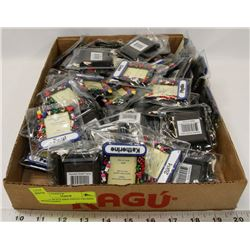 LOT OF 60 PCS MINI PHOTO FRAMES WITH NAMES