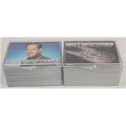 ENTERPRISE SEASON ONE & TWO COMPLETE TRADING CARD