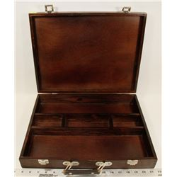 ARTIST'S LOFT WOOD ARTISTRY STORAGE BOX -