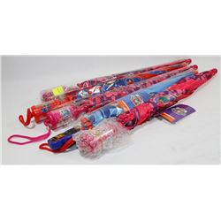 BUNDLE OF 5 KIDS UMBRELLAS