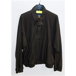 NEW BARBUDA BLACK SHELL JACKET SIZE XL