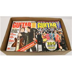 BOX WITH 20 PROFESSIONAL GUITAR MAGAZINES