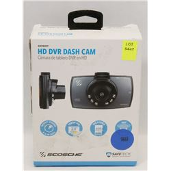 SCOSCHE 1080P HD DASH CAMERA W/ NIGHT VIS