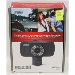 NEW UNIDEN DC115 DUAL CAM HD 1080P DASH CAM