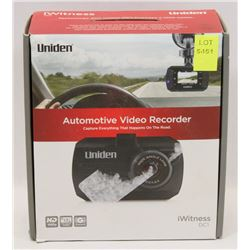 NEW UNIDEN DC1 COMPACT HD 1080P DASH CAM