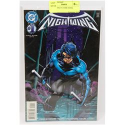 NIGHT WING #1 COMIC BOOK.