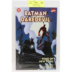 DC BATMAN DARE DEVIL PUBLISHED IN 2000 #1 COMIC