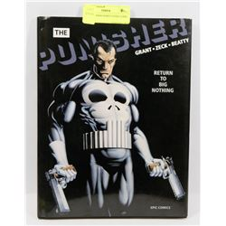 THE PUNISHER HARD COVER COMIC BOOK.