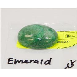 #29-NATURAL GREEN EMERALD GEMSTONE  172.5CT